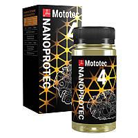 Присадка для 4хтактных мотоциклов NANOPROTEC Mototec 4