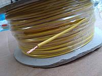 Провод монтажный ПВ3 0,5кв.мм. (CCA),длина 100м,цвет жёлтый