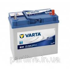Аккумулятор VARTA Blue Dynamic В31 (545155033) 6СТ-45, 330En, габариты 238х129х227, гарантия 24 мес.