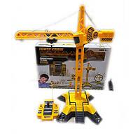 Кран - реалистичная функциональная игрушка отличного качества на радиоуправлении