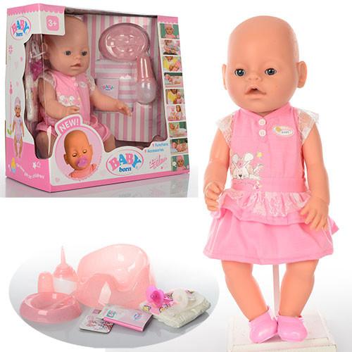 Пупс Baby Born -уникальная развивающая «умная» куколка со всеми необходимыми аксессуарами