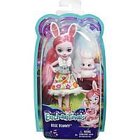 Enchantimals. Кукла с любимой зверюшкой, Бри Кроля и Твист (DVH88-DVH87)