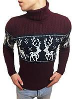 Стильный молодежный свитер под горло #1