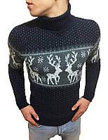 Стильный молодежный свитер под горло #2