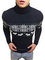 Стильный молодежный свитер под горло #3