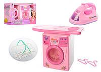 """Бытовая техника """"Уютный дом"""" - стиральная машина и утюжок для детских ролевых игр"""