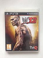 Видео игра W 12 Реслинг (PS3)