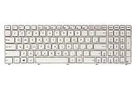 Клавиатура для ноутбука ASUS A52, K52, X54 (K52 version) белый, белый фрейм