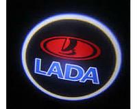 Дверной логотип LED LOGO 245 LADA (100) KX