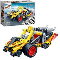 Конструктор BANBAO 6967 Машина (гоночная) - 108 деталей для крутой машины
