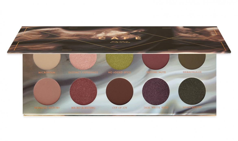 Палетка теней  Zoeva Café Eyeshadow Palette