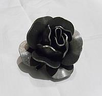 """Цветок кованый """"Роза"""" 80*80*60мм"""
