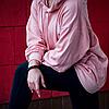 Palace Pink hoodie Худи розовая женская Бирка люкс, фото 3