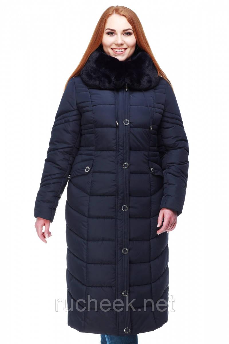 52a409129c6 Купить Зимнее женское пальто Дайкири 3 р-ры 48 - 64 ТМ NUI VERY в ...
