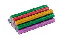 Стержни клеевые 11,2*100 ммцветные перламутровые12 шт MasterTool 42-0156