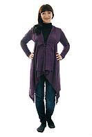 Кардиган для беременных и кормящих мам ДЕЛОВАЯ МАМА (фиолетовый, размер L)