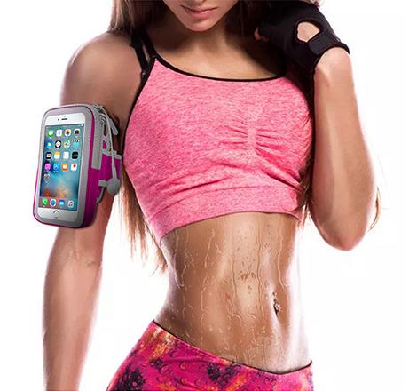 "Чехол на руку Armpocket для Iphone X/8/7/6 Plus и смартфонов до 5.8"""