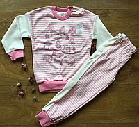 Пижама для девочки ТМ Ляля рост 104