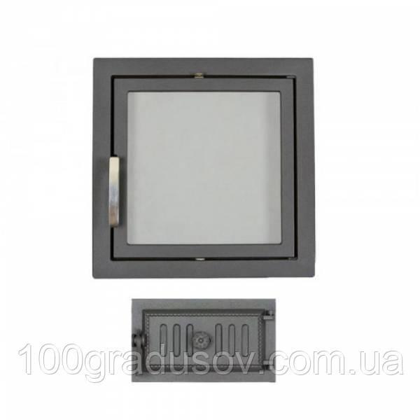 Комплект дверец для камина герметичный SVT 501-433