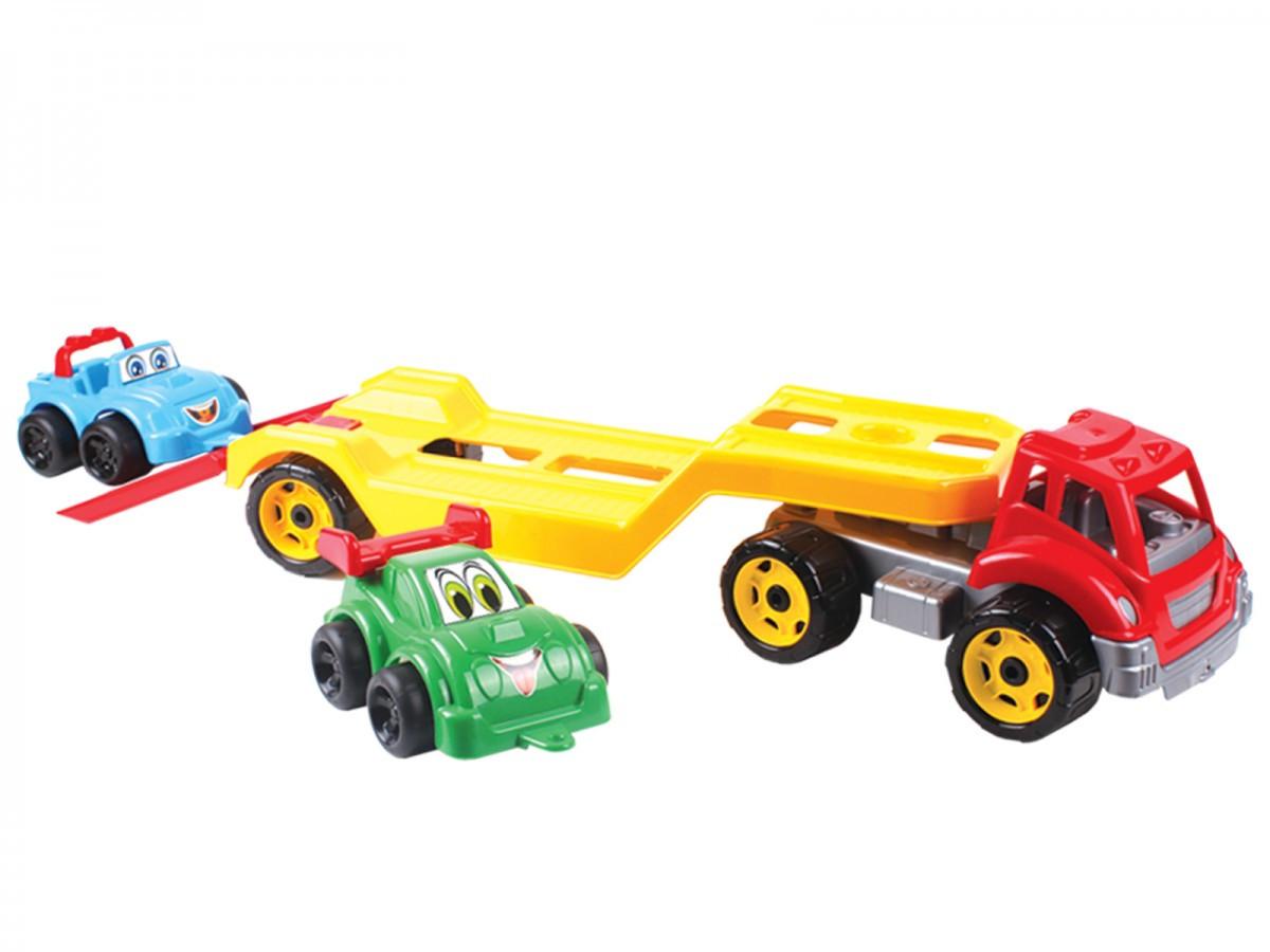 Игрушка Автовоз с набором машинок ТехноК 3909