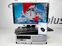 Комплект ПК HP Compaq dc7700 SFF 160 GB 2 GB(DDR 2) IC2D 1.8-HP LA1905wg+Подарки