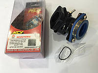 Патрубок карбюратора спортивный,тефлон GY 6-150cc