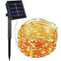 Гирлянда на солнечной батарее для улицы и дома