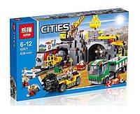 Конструктор Lepin серия Cities 02071 Шахта (аналог Lego City 4204)