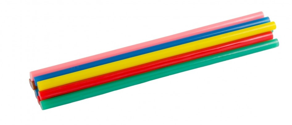 Стержни клеевые 7,2х200 мм цветные MasterTool 42-0159 12шт
