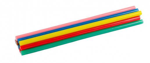 Стержни клеевые 7,2х200 мм цветные MasterTool 42-0159 12шт, фото 2