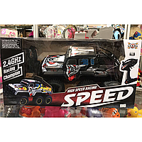 Джип на радиоуправлении speed, 6 колёс, внедородник
