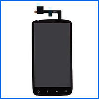 Дисплей (экран) для HTC Sensation Z710e 4G с тачскрином в сборе, цвет черный