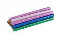 Стержни клеевые 7,2*100 ммцветные перламутровыеMasterTool 42-0160 12шт