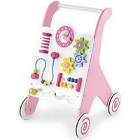 Viga Toys Ходунки-каталка Viga Toys Розовые (50178)