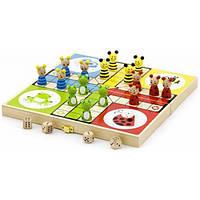 Viga Toys Игра настольная Viga Toys Лудо (50064)