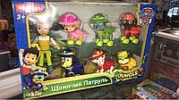 Герои щенячий патруль, jungle rescue, детский набор