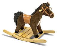 Мягкая игрушка  Melissa&Doug Плюшевая лошадка - каталка
