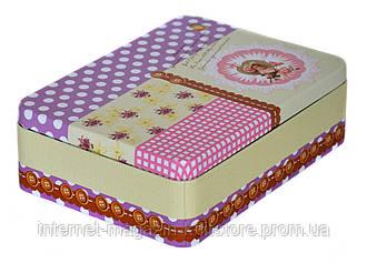 Скринька для швейних приладдя металева 50*155*210