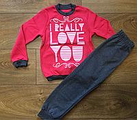 Пижама детская хлопковая рост 104 ТМ Робинзон