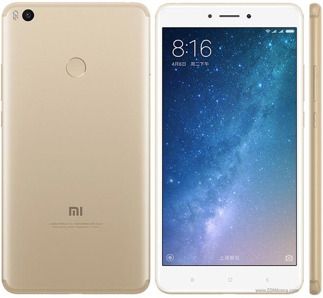 "Смартфон Xiaomi Mi Max 2 Gold 4/64Gb, 8 ядер, 12/5Мп, 6.44"" IPS, 2 sim, 4G, 5300мАh, 12 мес."