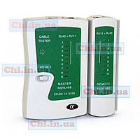 Сетевой тестер LAN Ethernet, кабеля витой пары с RJ45, RJ11