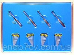 Fiber post ,штифти стекловолоконный 1.2 мм 20 шт. + 4 развёртки