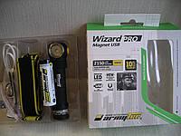 Фонарь Armytek Wizard Prov3 XHP50 Magnet USB Warm,2150LED lum