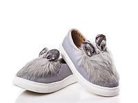 Детская обувь оптом. Детские кеды бренда Clibee (Doremi) для девочек (рр. с 25 по 30)