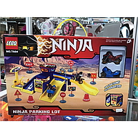 Паркинг нинзяго, топ продаж, новинка, детские игрушки