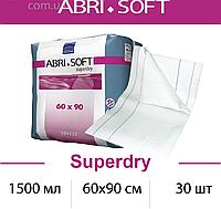 Одноразовые пеленки при недержании у взрослых 1500мл., 60х90см., 30шт. ABRI-SOFT Superdry