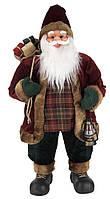 Санта Клаус Дед Мороз новогодняя игрушка под ёлку высота 80 см