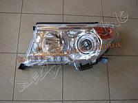 Передние фары на Toyota Land Cruiser 200 2007-2012 рестайлинг