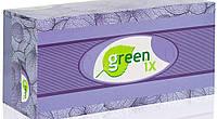 """Паперові двошарові серветки білі 100% целюлоза """"Green ix"""". В упаковці 150 штук + відео"""