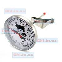 Игольчатый термометр Т-120 с клипсой кухонный механический